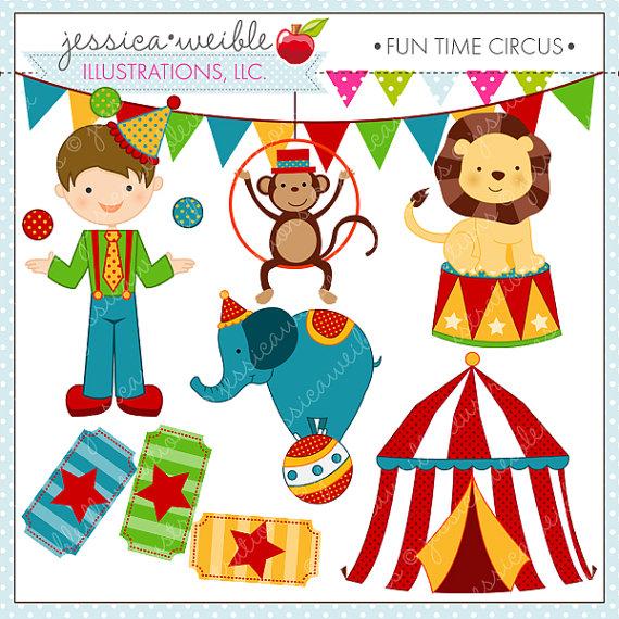 Cute Circus Clipart - Clipart Kid