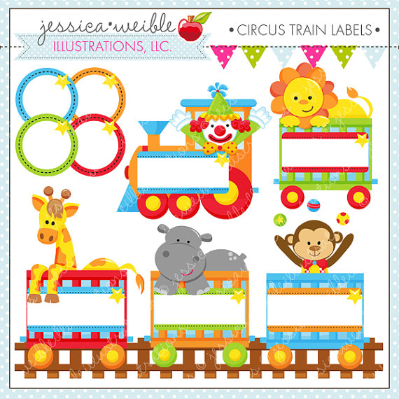 Cute Digital Clipart   Commercial Use Ok   Circus Clipart Circus