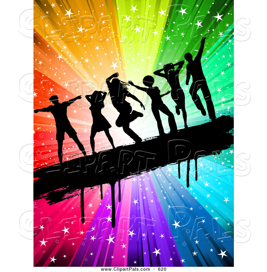 Dancing At A Party Clip Art   Clipart Panda   Free Clipart Images