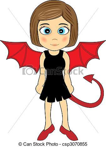 Devil Woman Clipart - Clipart Kid