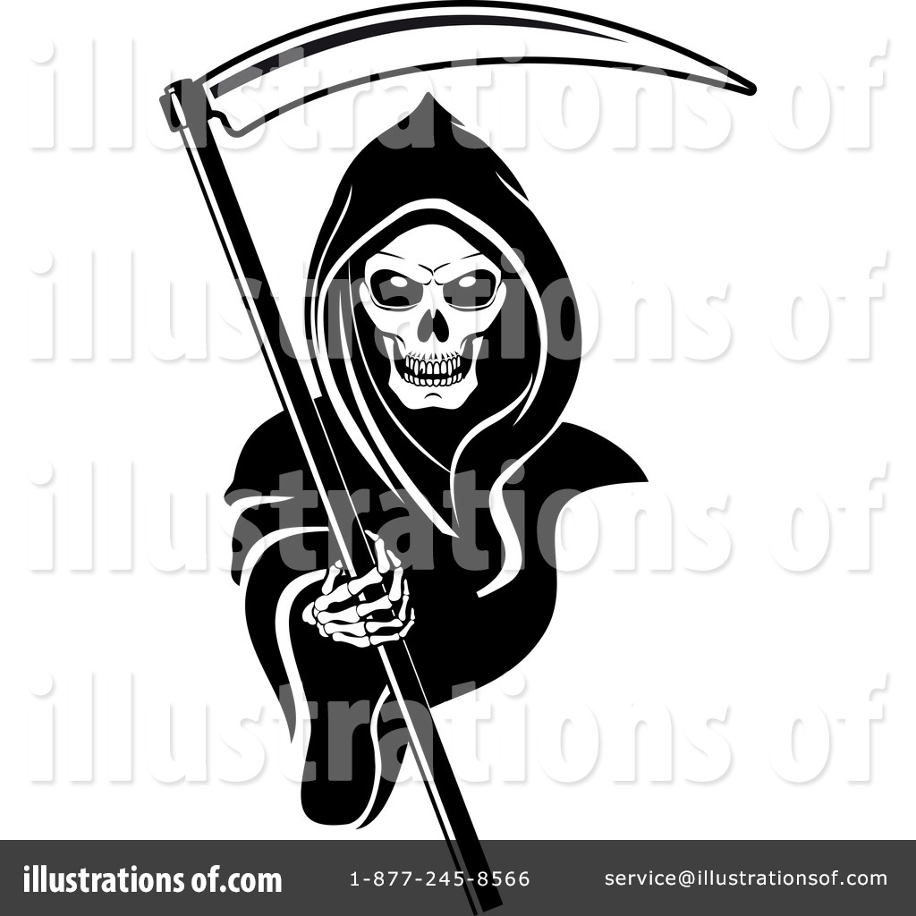 Grim Reaper Clipart  1065873 By Seamartini Graphics   Royalty Free