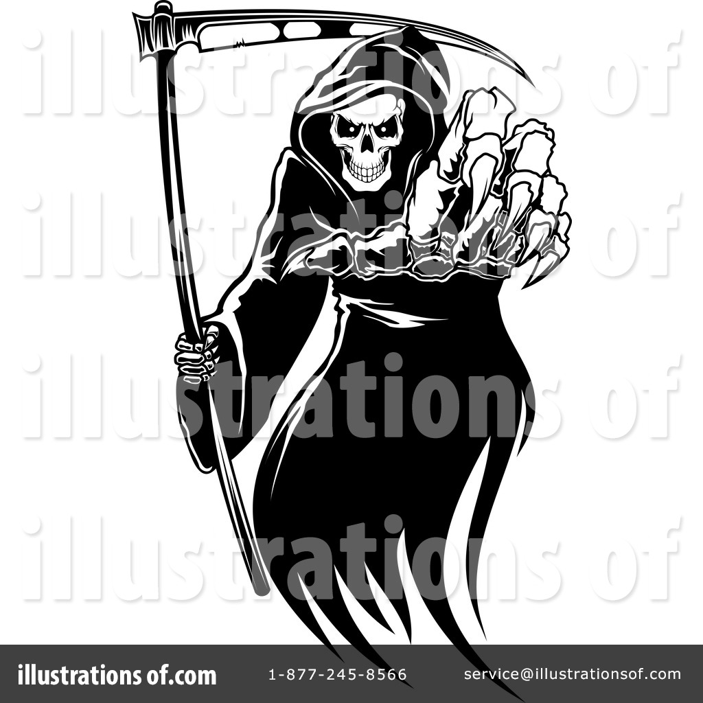 Grim Reaper Clipart  1134497 By Seamartini Graphics   Royalty Free  Rf