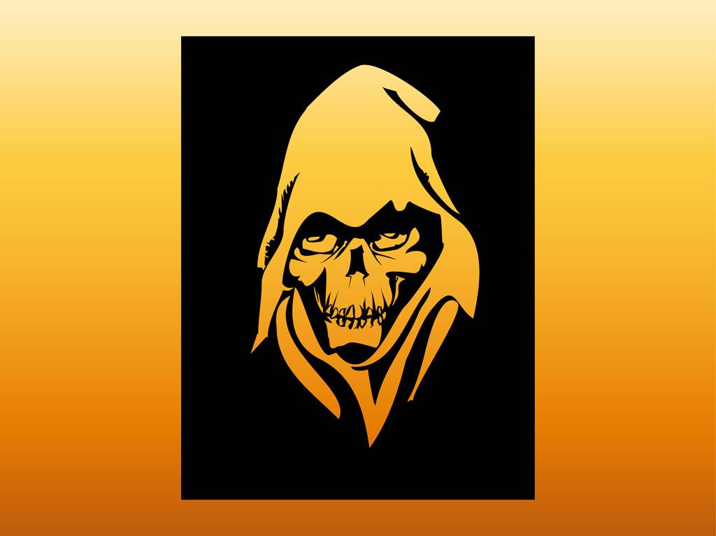 Tattoo Design Bild: Grim Reaper Clipart