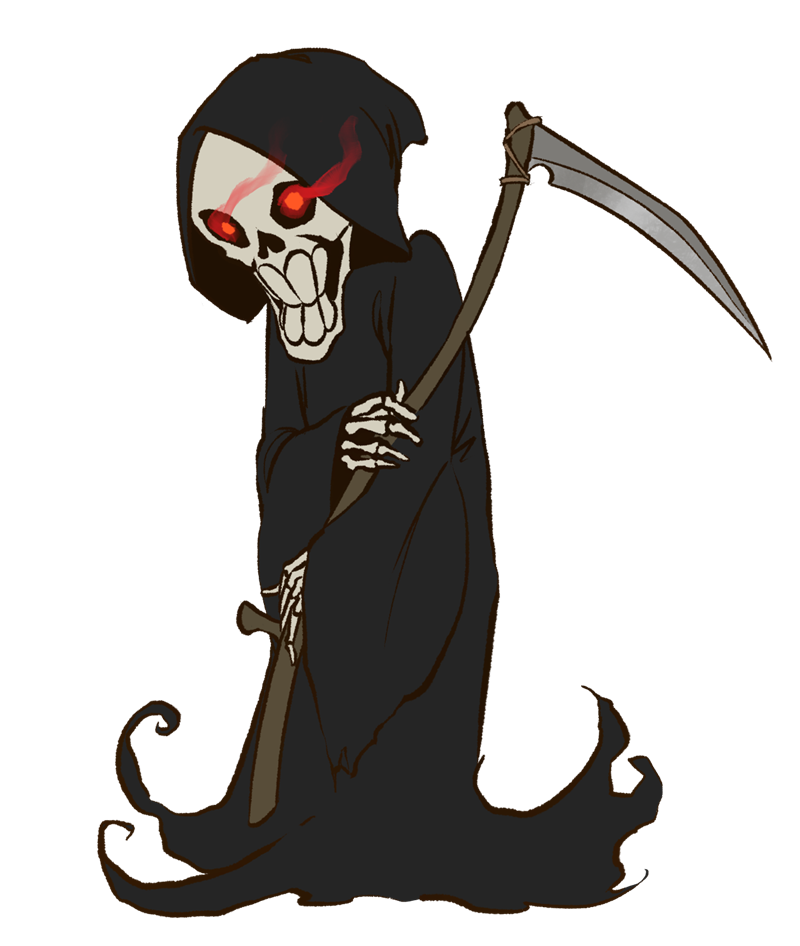 Clip Art Grim Reaper Clipart grim reaper clipart kid reaper6