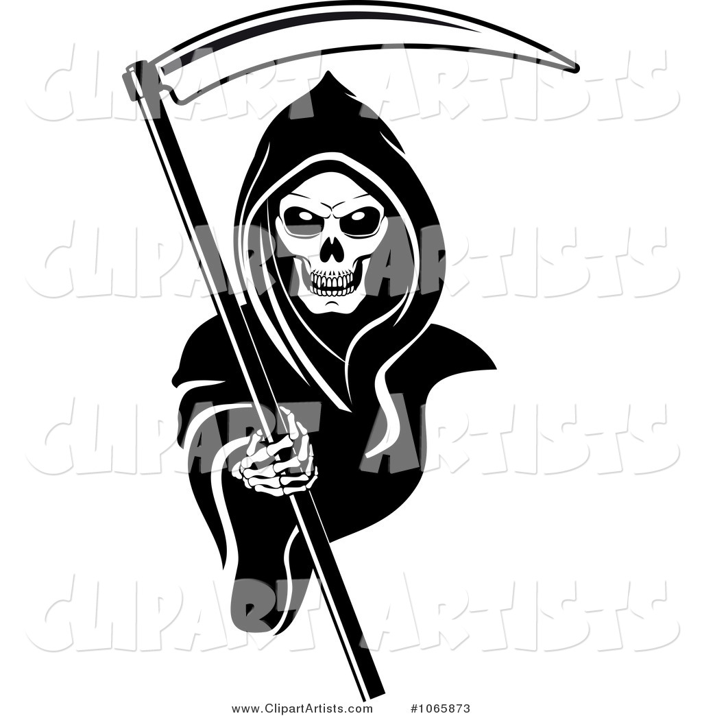 Larger Preview  Vector Grim Reaper Clipart By Seamartini Graphics