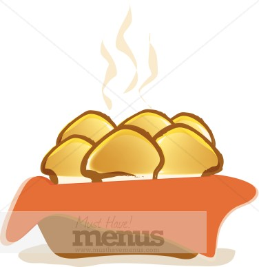 Png Eps Tweet Dinner Rolls Clipart Steaming Hot These Dinner Rolls