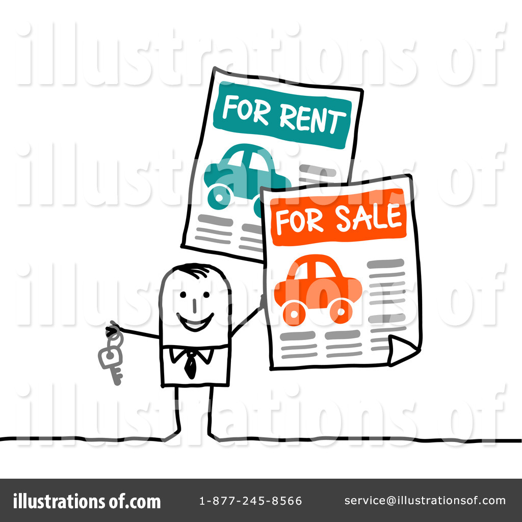 Rental Clipart  212816   Illustration By Nl Shop