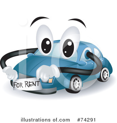 Royalty Free  Rf  Car Clipart Illustration  74291 By Bnp Design Studio