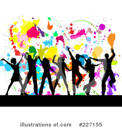 Royalty Free  Rf  Dancing Clipart Illustration By Kj Pargeter   Stock
