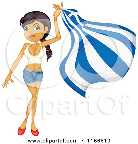 Royalty Free  Rf  Greek Flag Clipart   Illustrations  1
