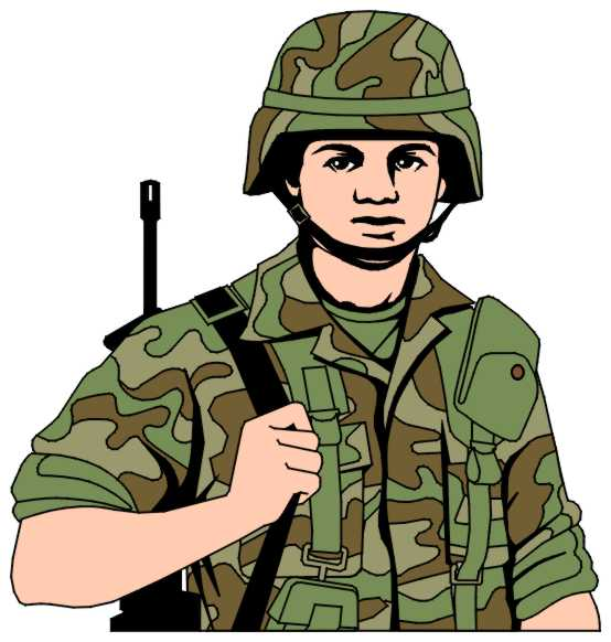 Soldier Clip Art 082210 Vector Clip Art Free Clipart Images