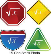 Square Root Vector Clip Art Illustrations  587 Square Root Clipart Eps
