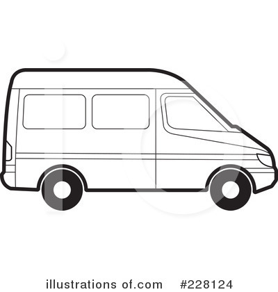 Clip Art Van Clip Art van outline clipart kid 228124 illustration by lal perera