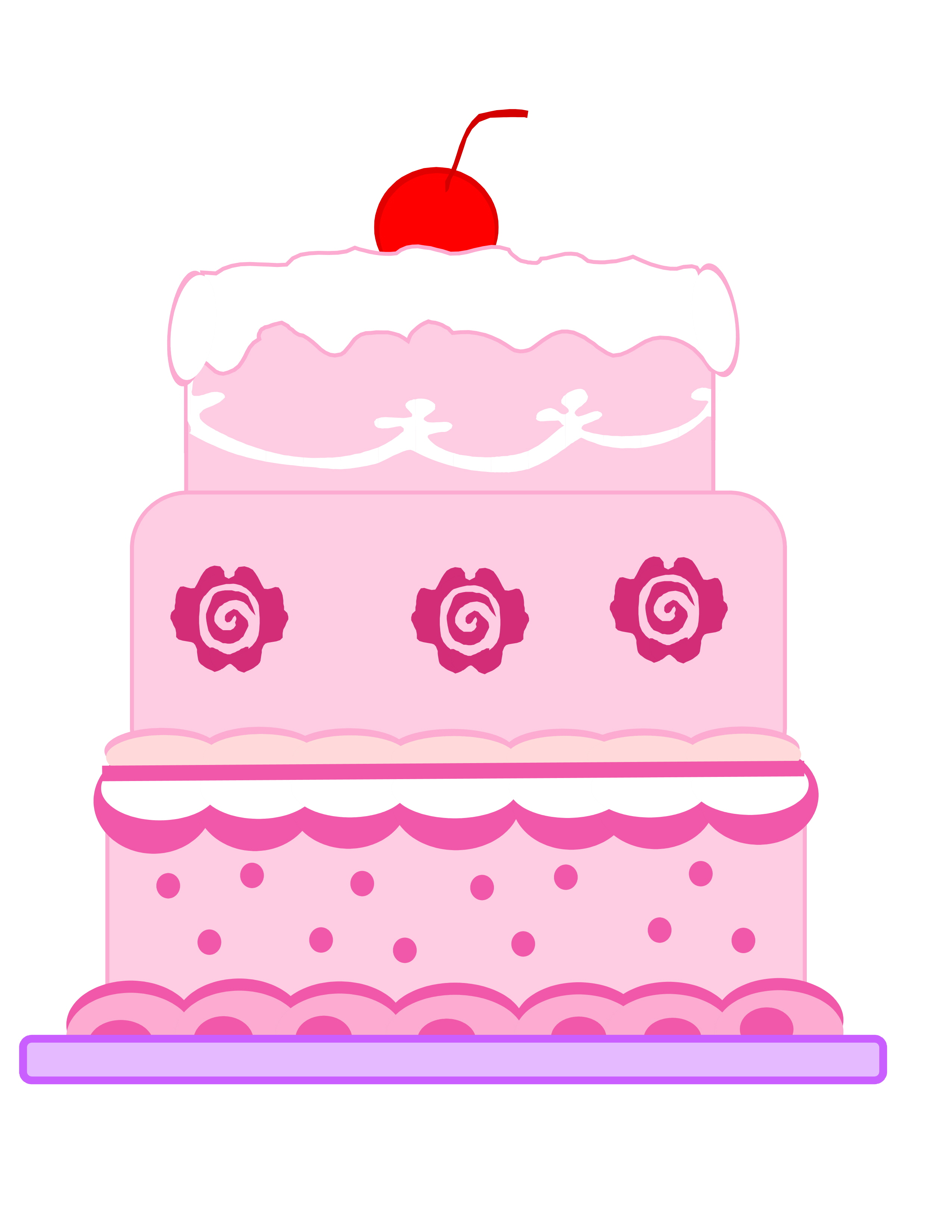 Simple Cake Clipart : Animated Cake Clipart - Clipart Suggest