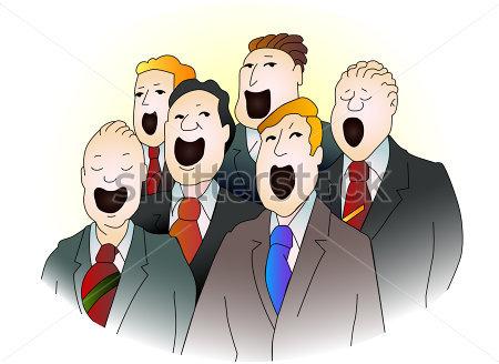 Male Chorus Clipart - Clipart Suggest