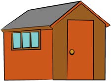 Garden Shed Clipart Shed Clipart