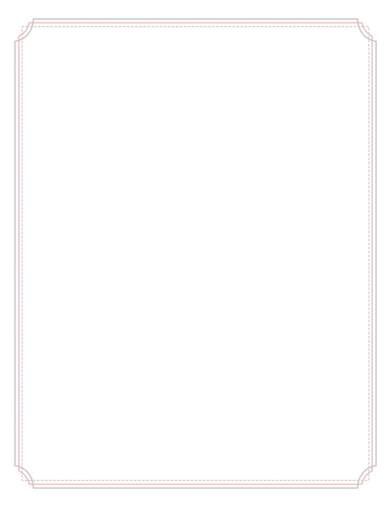 Pink Scalloped Corner Border Full 8 5 X 11 Border Simply Right Click