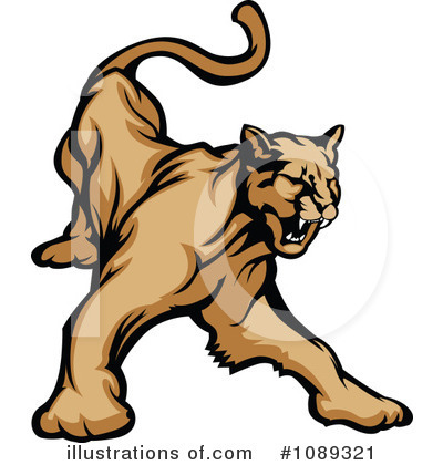 Royalty Free Cougar Clipart Illustration 1089321 Jpg