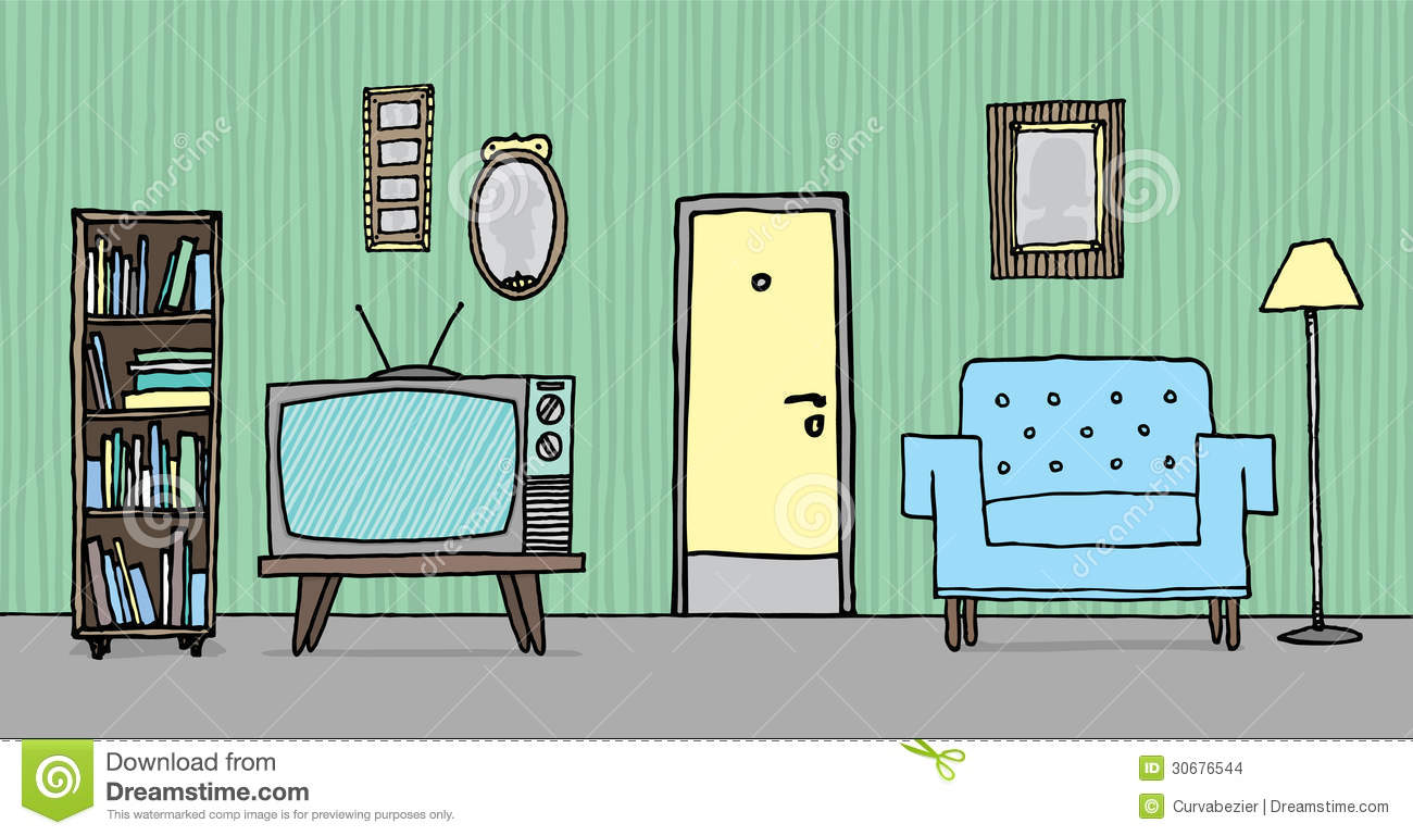 Living room background clipart clipart suggest for Simple drawing room images