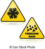 Snow Cold Freeze Winter Danger Slip Slip Illustrations And Clipart