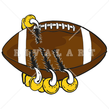 Tiger Claw Football Clipart Tiger Claw Football Clipart