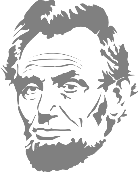 Abe Lincoln Clip Art At Clker Com   Vector Clip Art Online Royalty