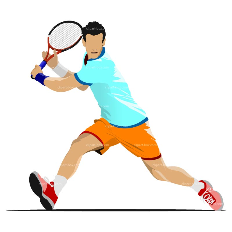 Back   Gallery For   Tennis Player Clip Art