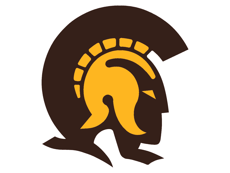 Clip Art Trojan Clipart trojan logo clipart kid brown eye trojans yellow image