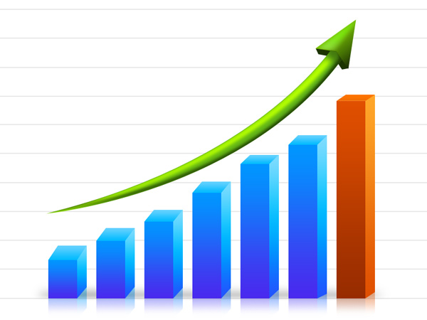 Business Growth Graph  Psd    Graphicsfuel