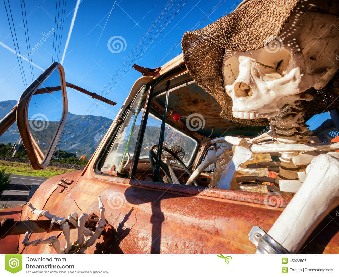 Dead Driver Stock Photo   Image  45922506