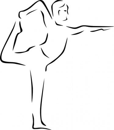 Flexibility Clipart Yoga Clip Art 6 Jpg