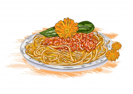 Home   Abstract   Meat Vector Spaghetti Whith Tomato Sauce