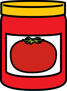 Jar Of Spaghetti Sauce Clip Art   Jar Of Spaghetti Sauce Image