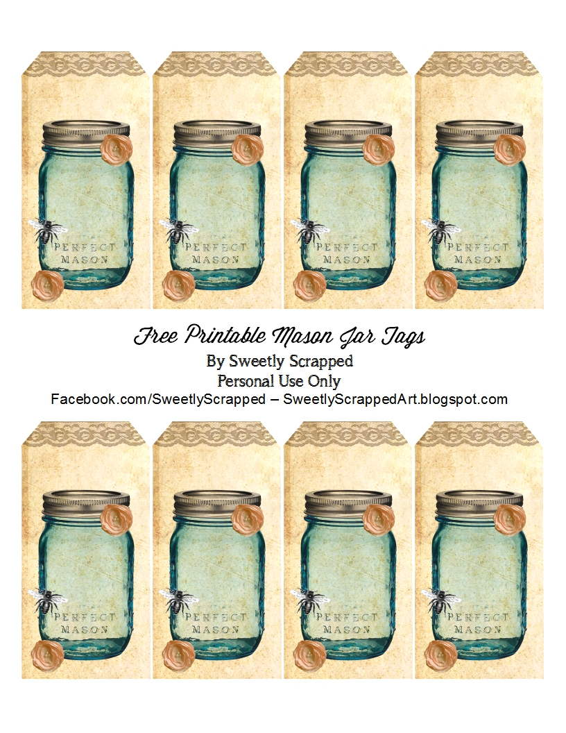 Jars Tins   Sweetly Scrapped  S Free Printablesdigi S And Clip Art