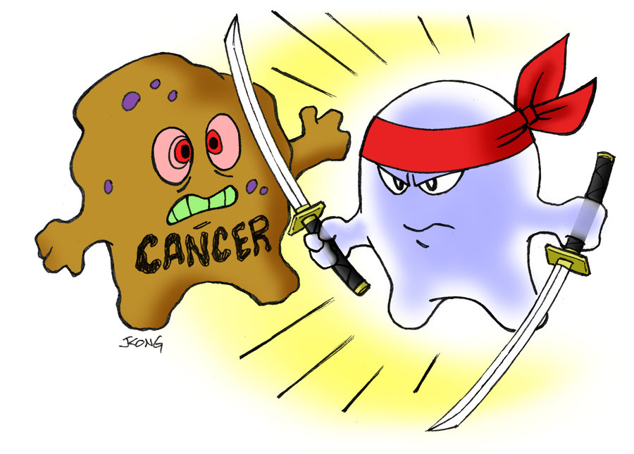 Killing Cancer Cells By   Jerrykongart On Deviant Art