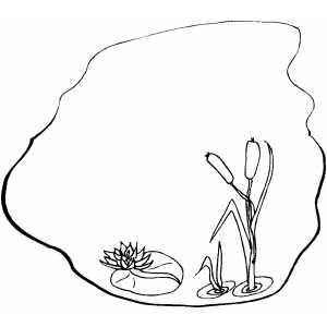 Pond Plants Clipart Clipart Suggest