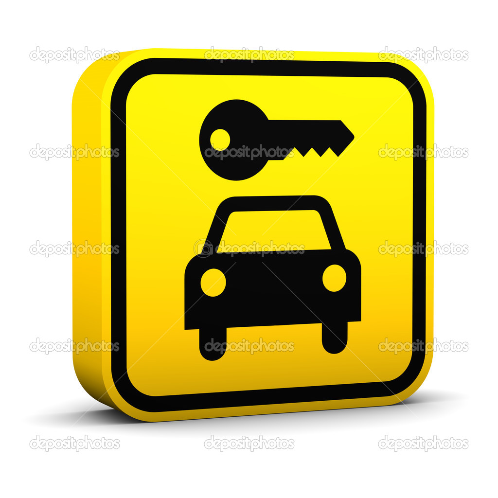 Rent A Car Sign   Stock Photo   Nmcandre  2851001