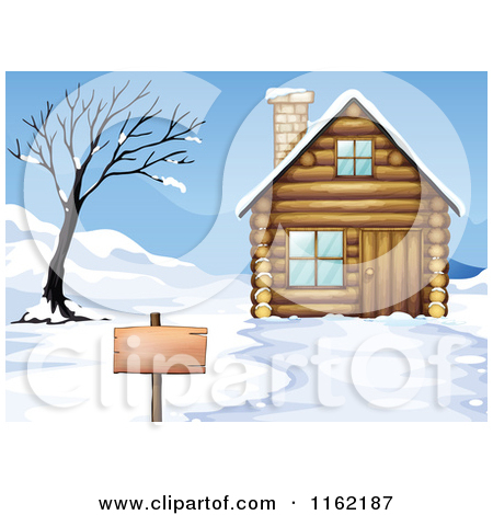 Royalty Free  Rf  Winter Cabin Clipart Illustrations Vector Graphics
