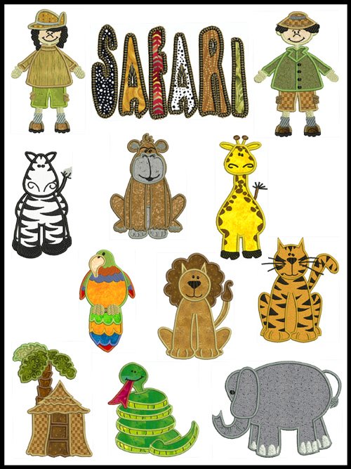 Safari Clipart Jungle Safari Clipart