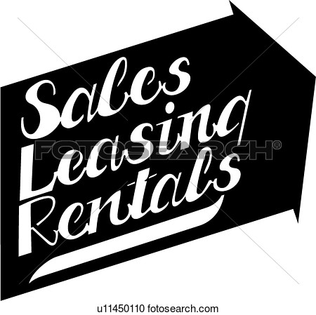 Sign Business Signs Lease Leasing Lettering Prefabricated Rental