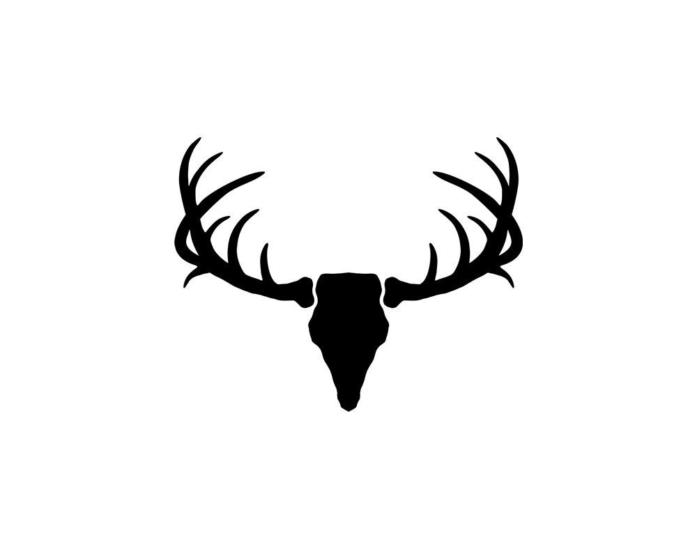 Clip Art Antler Clip Art deer antler clipart kid silhouette vector clip art by donaldmorrisgraphics