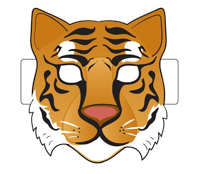Animal Mask Clipart - Clipart Kid