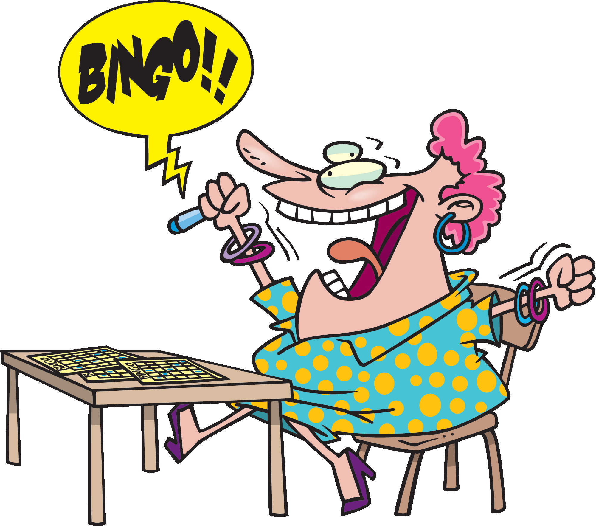 Bingo Logos Clipart - Clipart Kid