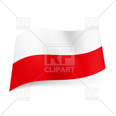 Flag Of Poland 20901 Download Royalty Free Vector Clipart  Eps