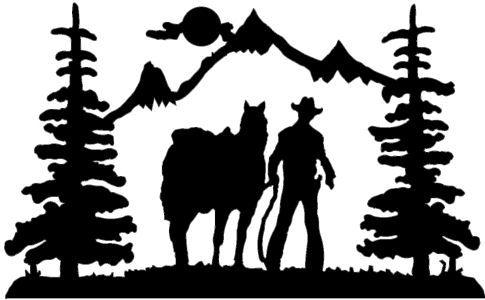 Western Scenes Clip Art Cliparts