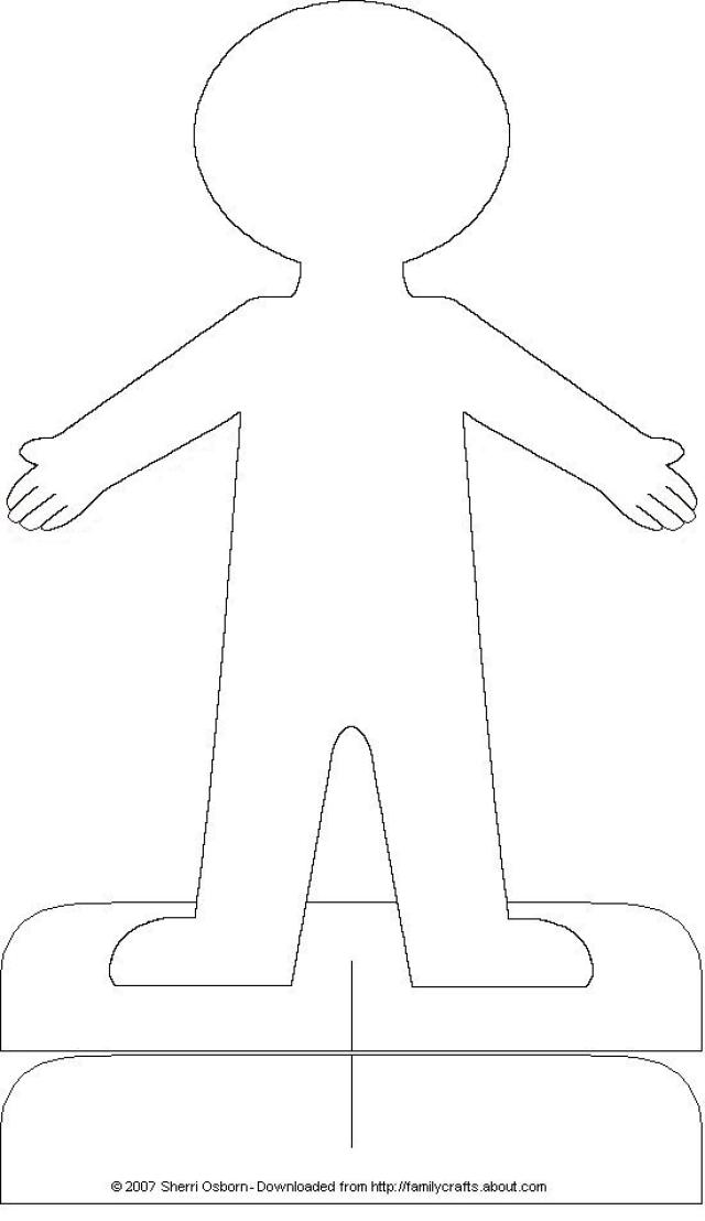 Make Paper Dolls From Recycled Materials   Care2 Healthy Living
