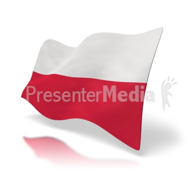 Poland Flag   Signs And Symbols   Great Clipart For Presentations