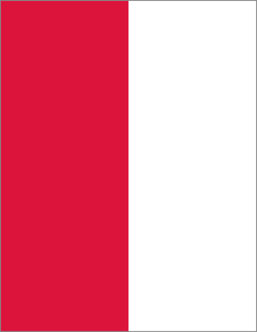 Share Poland Flag Full Page Clipart With You Friends