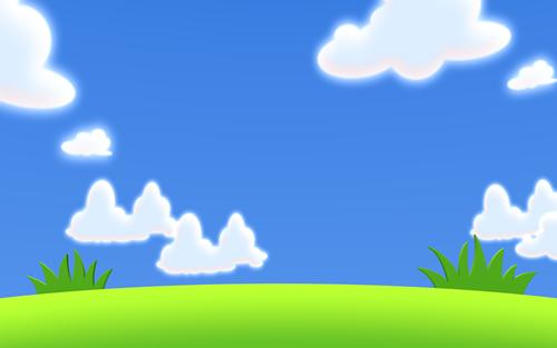 Sunny Cloud Clipart - Clipart Kid