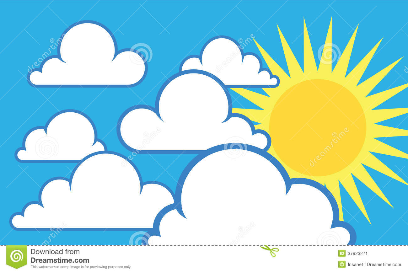 Sun In Sky Clipart clipart of a smiling summer sun wearing shades with ...